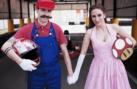 Слатка свршеничка фотосесија инспирирана од Супер Марио