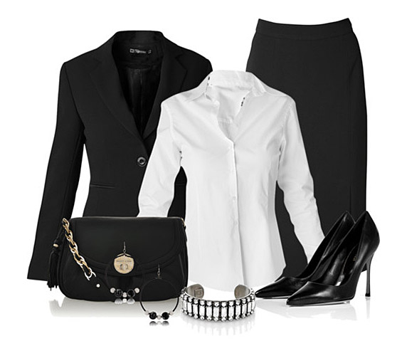 Тренди комбинации со бели маички и кошули