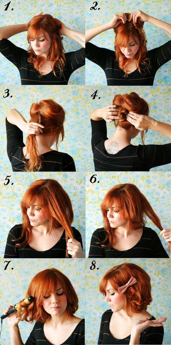 Како да направите вашата долга коса да изгледа кратко