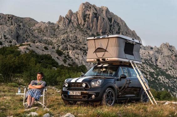 Мини Купер за кампување