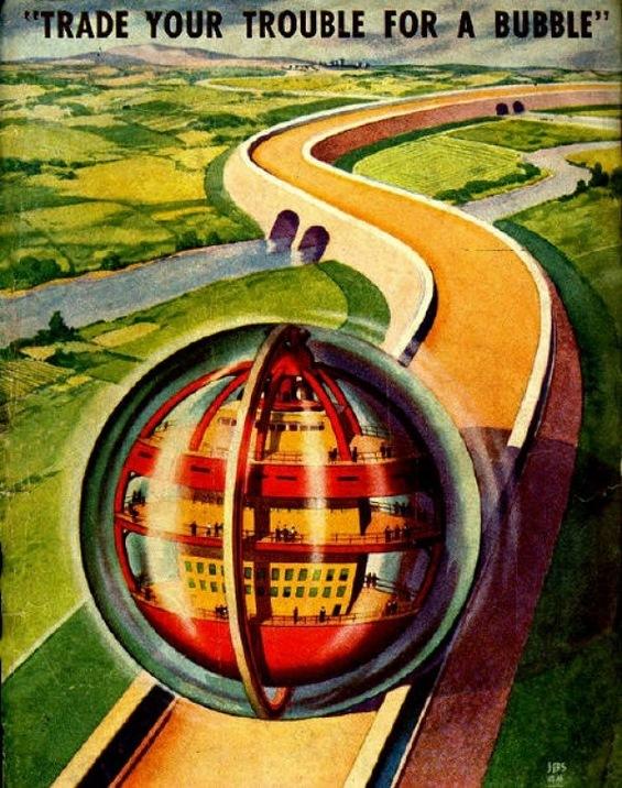 Како луѓето си ги замислувале возилата на иднината пред еден век?