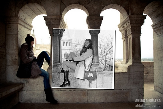 Спој на сегашноста и минатото во една фотографија