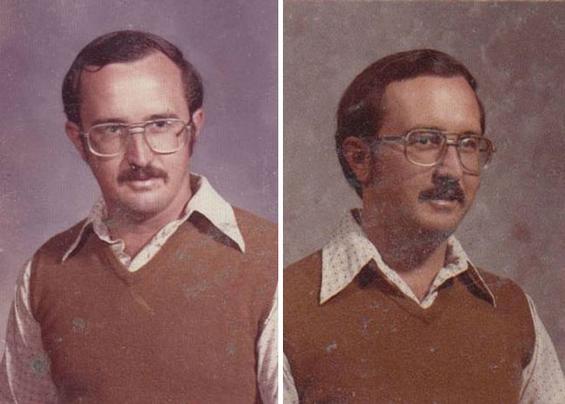 Наставик ја носи истата облека за на табло 40 години