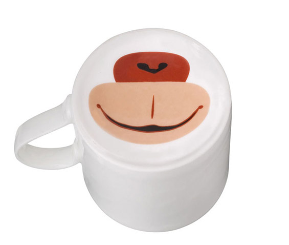 Шолји за кафе со животински муцки
