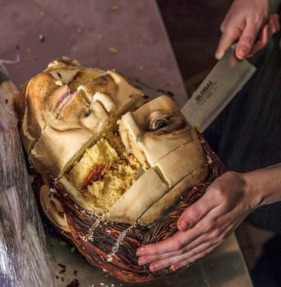 (6) Торта во чест на Декстер - да ти е  страв да ја пробаш :)