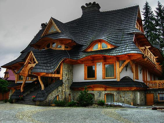 Вистински колиби инспирирани од бајките