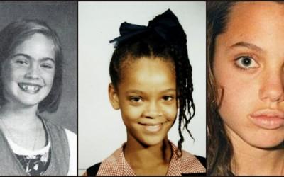 Како изгледале познатите секси жени кога биле мали