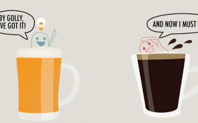 Како пивото и кафето влијаат на вашиот мозок?