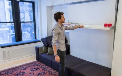 Мал стан во Њујорк кој се преобразува во голем број на соби