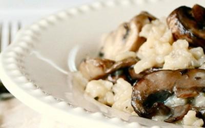 Вкусно рижото со печурки
