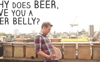 Зошто се создава пивскиот стомак?