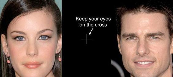 Оптичка илузија: убавите славни личности стануваат грди