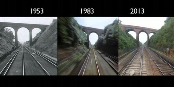 Возејќи се во истиот воз 60 години подоцна