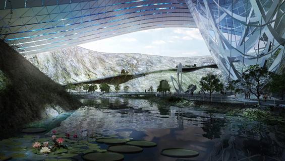 Планинско одморалиште од иднината