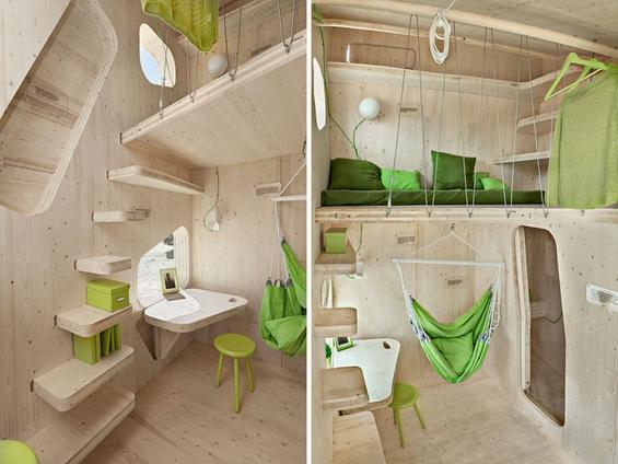 Минијатурна, но компактна студентска куќичка