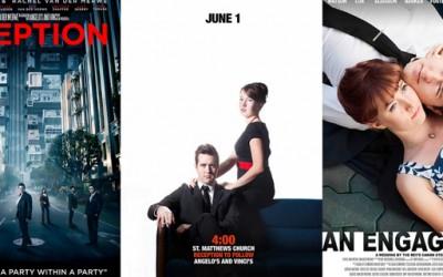 Рекреирале постери од филмови и ТВ серии за најава на нивната свадба