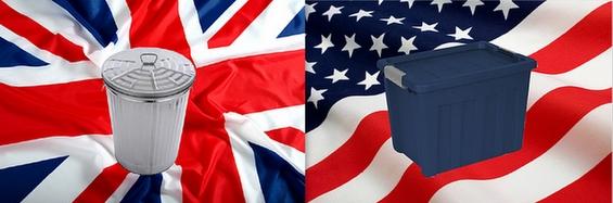 Британски зборови кои имаат сосем различно значење во САД