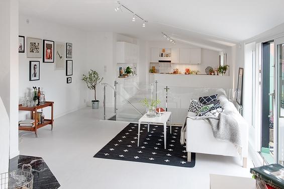 Идилично дуплекс поткровје во Гетеборг, Шведска