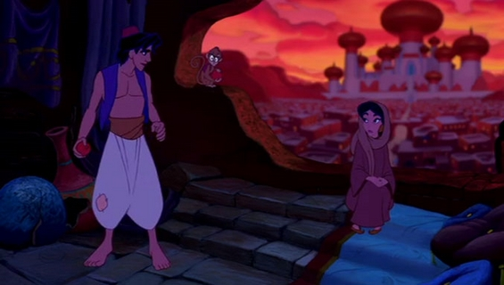 Најромантичните сцени од цртаните филмови на Дизни