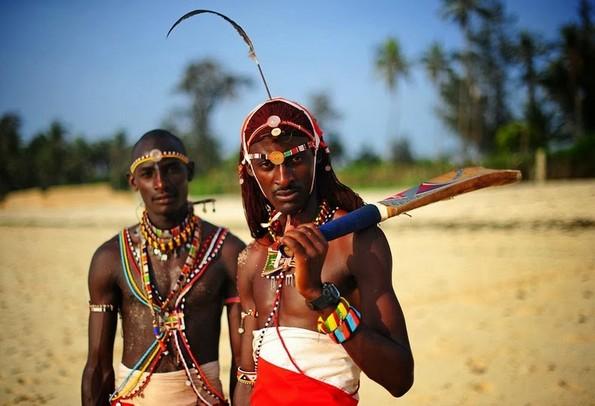 Крикет воините од племето Масаи