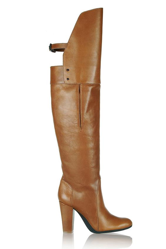Есенски тренд – високи чизми (ФОТО)