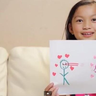Како изгледа љубовта според децата?