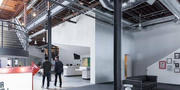"""(1) Новите канцеларии на """"Пинтерест"""" во Сан Франциско"""