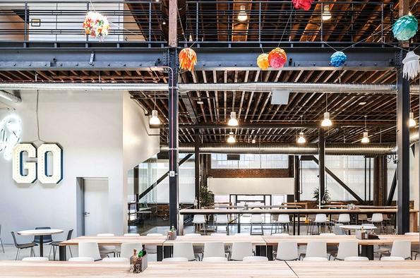 """(13) Новите канцеларии на """"Пинтерест"""" во Сан Франциско"""
