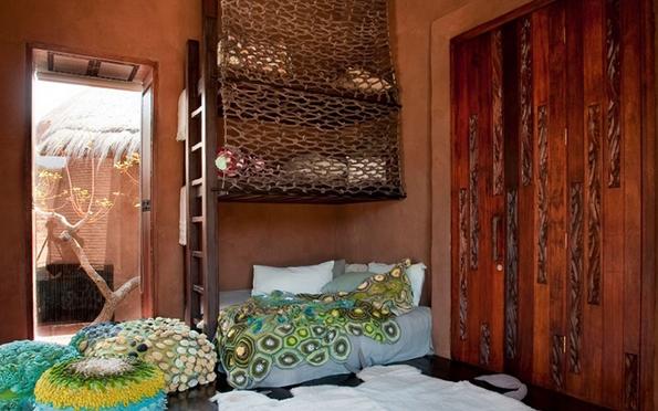 Луксузна колиба лоцирана во африканската дивина