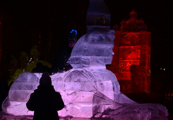 Погледнете како изгледа ледениот град во Москва