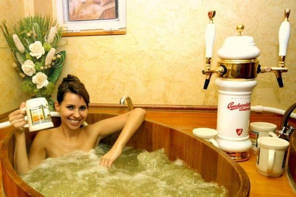 Спа-центар кој е рај за сите љубители на пиво