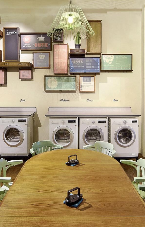 Центрифуга бар - пијте кафе и дружете се додека ви се пере облеката