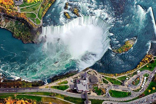 Нијагарините Водопади, САД