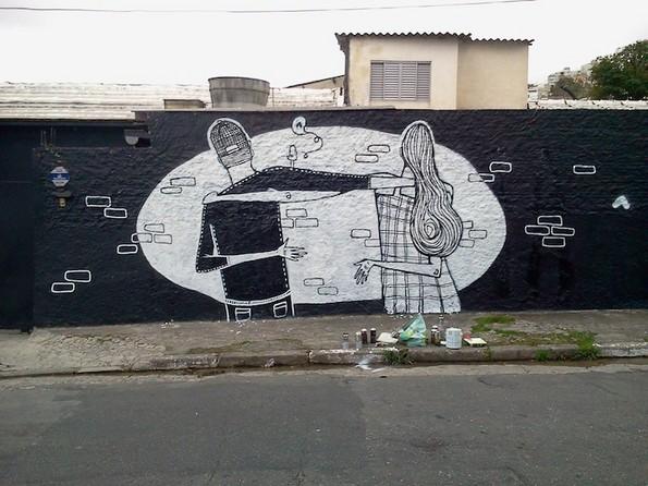 Феноменална љубовна улична уметност