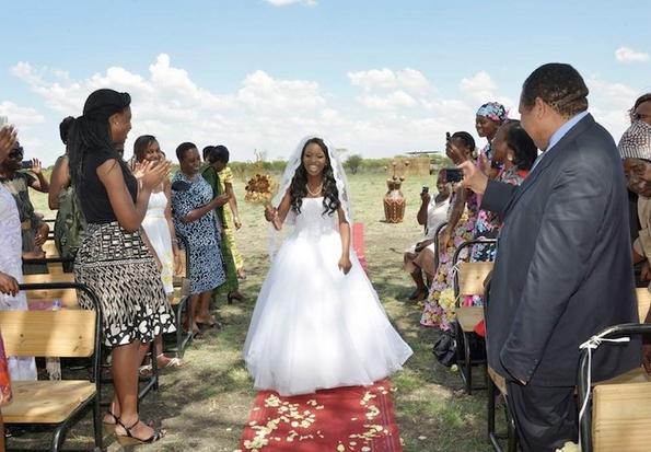 Прекрасна африканска свадба со слонови како од бајка