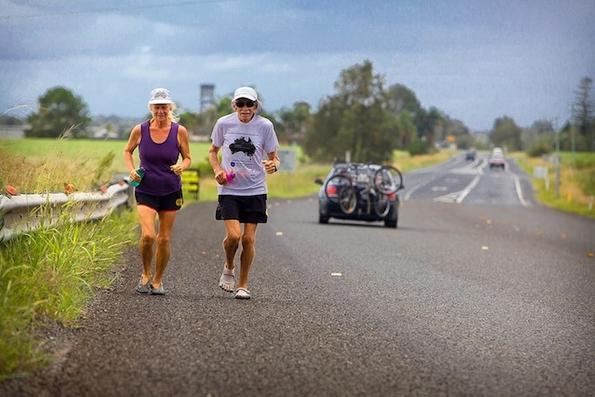 Преживеала рак, па трчала маратон 366 дена по ред
