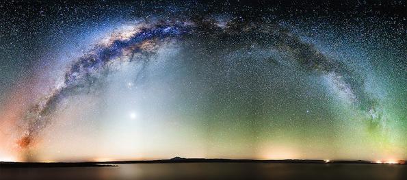 Спектакуларни ѕвездени неба кои ја искажуваат суштината на Универзумот