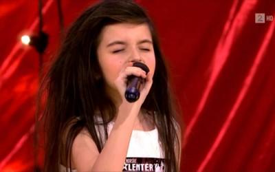 7-годишно девојче со глас кој ќе ви го одземе здивот