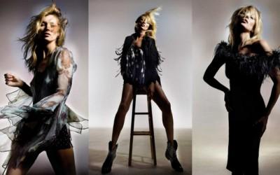 Прекрасната Кејт Мос како модел на својата нова колекција