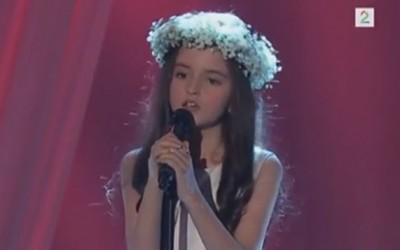 8-годишно девојче кое ќе ве маѓепса со својот глас