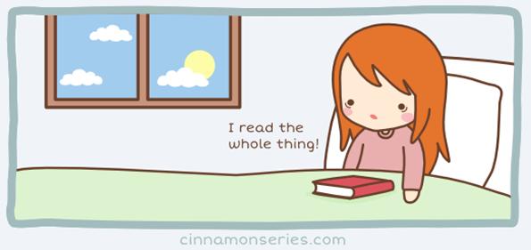 Ја прочитав цела!