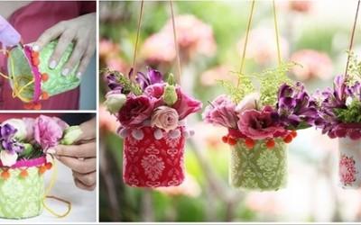 Интересни висечки вазни кои може да ги изработите сами