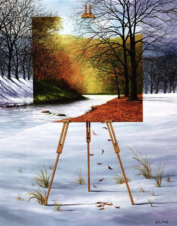 Слика во слика: Уметнички дела кои си поигруваат со вашите очи