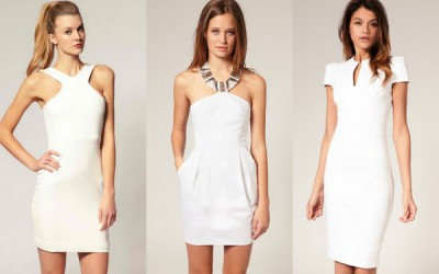 Модна инспирација: Бели летни фустани
