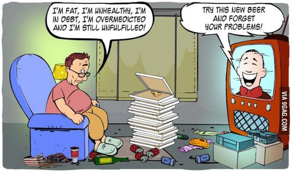 Дебел сум, не сум добар со здравјето, во долгови сум, примам премногу лекови и пак не се чувствувам исполнето! – Пробај го новово пиво и заборави на своите проблеми!