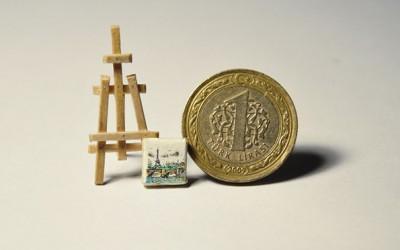 """Прекрасни минијатурни уметнички дела исцртани на необични """"платна"""""""