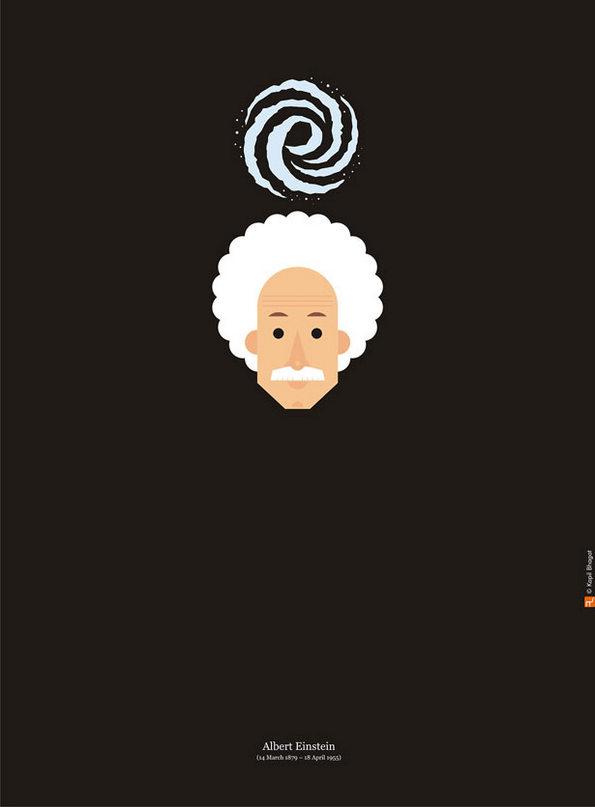 Алберт Ајнштајн (14.03.1879 - 18.04.1955)