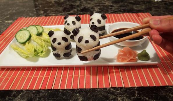 Слатка и креативна уметност од суши