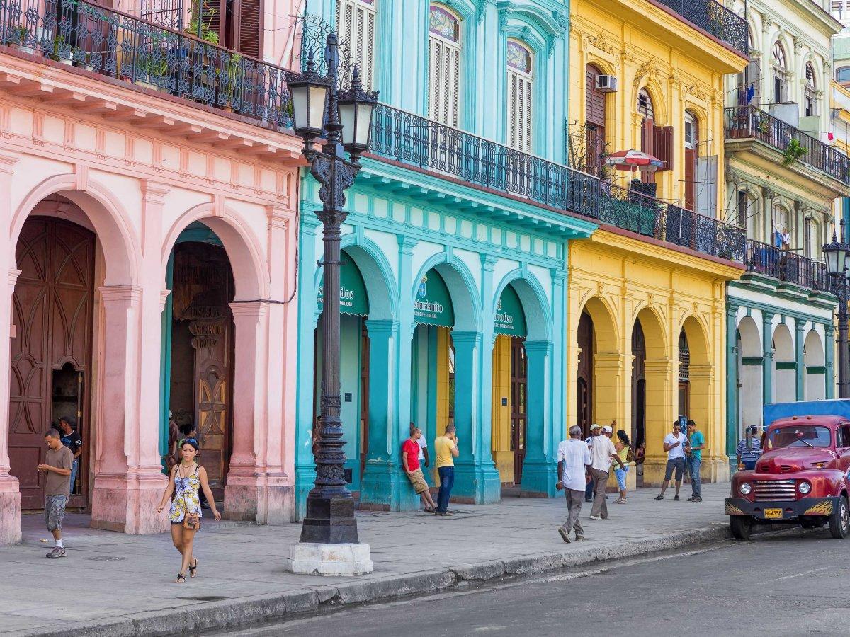 Колоритниот стар дел на главниот град Хавана