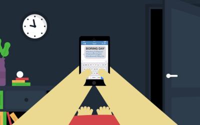 Господин Селфи – краток филм кој ја прикажува реалноста на нашата опседнатост со смартфоните